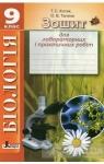 ГДЗ Біологія 9 клас Т. С. Котик, О. В. Тагліна (2014 рік) Зошит для лабораторних і практичних робіт