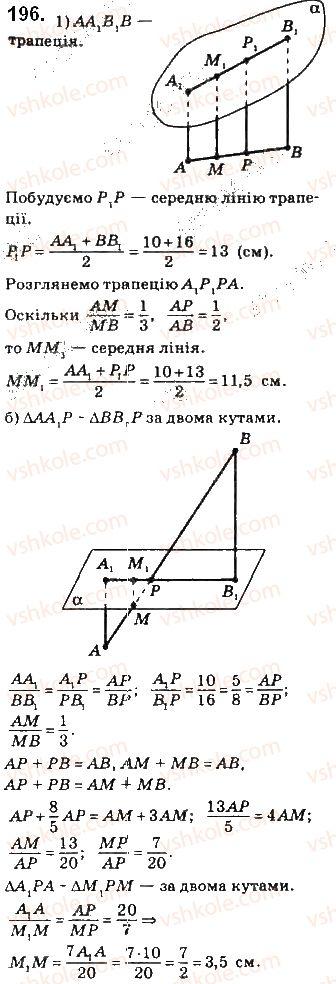 10-geometriya-gp-bevz-vg-bevz-v-m-vladimirov-2018-profilnij-riven--rozdil-2-paralelnist-pryamih-i-ploschin-u-prostori-5-paralelnist-pryamoyi-i-ploschini-196.jpg