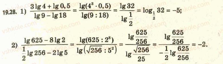 11-algebra-ag-merzlyak-da-nomirovskij-vb-polonskij-ms-yakir-2011-akademichnij-profilnij-rivni--2-pokaznikova-i-logarifmichna-funktsiyi-19-logarifm-i-jogo-vlastivosti-28.jpg