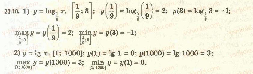11-algebra-ag-merzlyak-da-nomirovskij-vb-polonskij-ms-yakir-2011-akademichnij-profilnij-rivni--2-pokaznikova-i-logarifmichna-funktsiyi-20-logarifmichna-funktsiya-ta-yiyi-vlastivosti-10.jpg