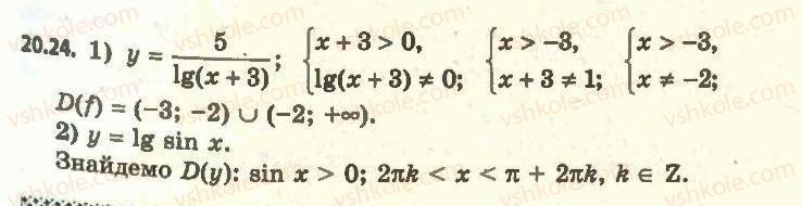 11-algebra-ag-merzlyak-da-nomirovskij-vb-polonskij-ms-yakir-2011-akademichnij-profilnij-rivni--2-pokaznikova-i-logarifmichna-funktsiyi-20-logarifmichna-funktsiya-ta-yiyi-vlastivosti-24.jpg