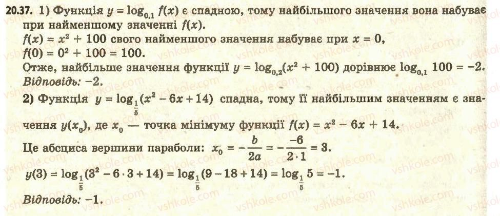 11-algebra-ag-merzlyak-da-nomirovskij-vb-polonskij-ms-yakir-2011-akademichnij-profilnij-rivni--2-pokaznikova-i-logarifmichna-funktsiyi-20-logarifmichna-funktsiya-ta-yiyi-vlastivosti-37.jpg