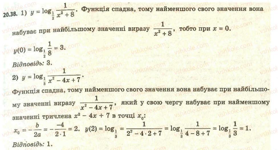 11-algebra-ag-merzlyak-da-nomirovskij-vb-polonskij-ms-yakir-2011-akademichnij-profilnij-rivni--2-pokaznikova-i-logarifmichna-funktsiyi-20-logarifmichna-funktsiya-ta-yiyi-vlastivosti-38.jpg