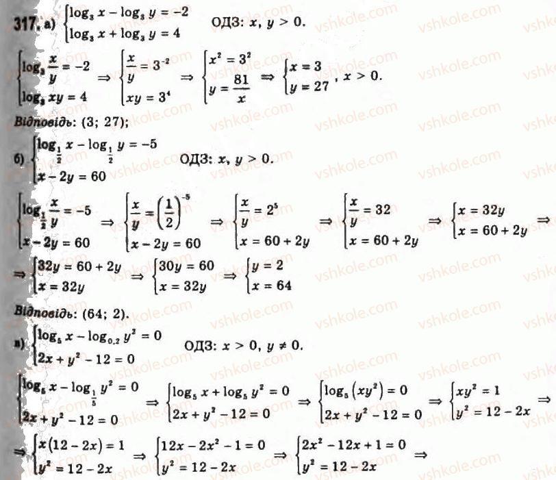 11-algebra-gp-bevz-vg-bevz-ng-vladimirova-2011-akademichnij-profilnij-rivni--7-logarifmichni-rivnyannya-ta-nerivnosti-317.jpg