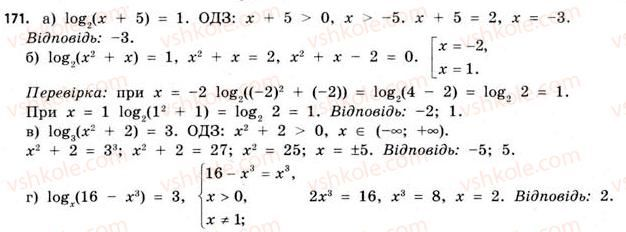 11-matematika-gp-bevz-vg-bevz-2011-riven-standartu--rozdil-1-pokaznikovi-ta-logarifmichni-funktsiyi-5-logarifmichni-rivnyannya-ta-nerivnosti-171.jpg