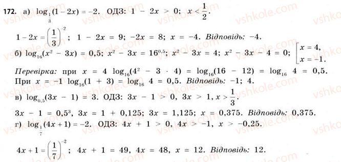 11-matematika-gp-bevz-vg-bevz-2011-riven-standartu--rozdil-1-pokaznikovi-ta-logarifmichni-funktsiyi-5-logarifmichni-rivnyannya-ta-nerivnosti-172.jpg