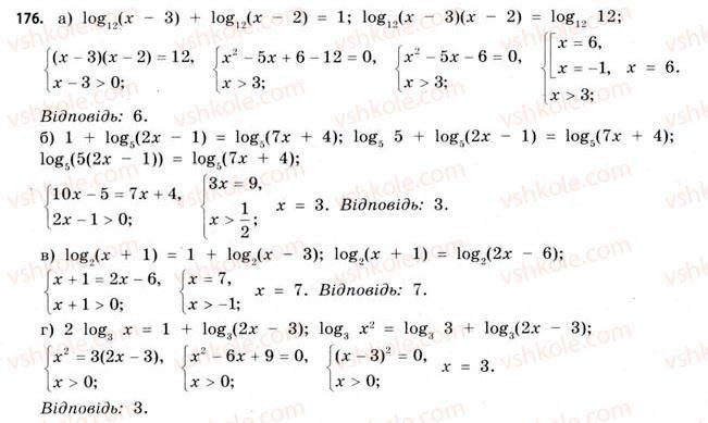 11-matematika-gp-bevz-vg-bevz-2011-riven-standartu--rozdil-1-pokaznikovi-ta-logarifmichni-funktsiyi-5-logarifmichni-rivnyannya-ta-nerivnosti-176.jpg