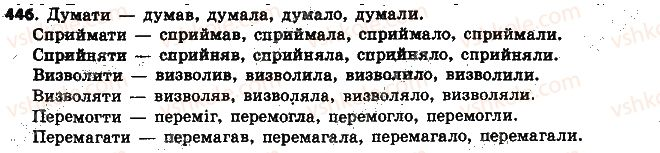 6-ukrayinska-mova-aa-voron-va-slopenko-2014--diyeslovo-47-chasi-diyesliv-446.jpg