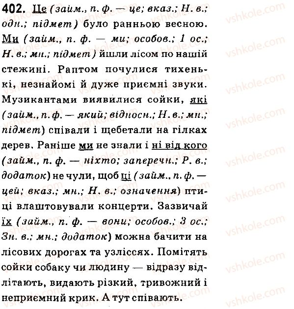 6-ukrayinska-mova-aa-voron-va-slopenko-2014--zajmennik-42-prisvijni-vkazivni-j-oznachalni-zajmenniki-402.jpg