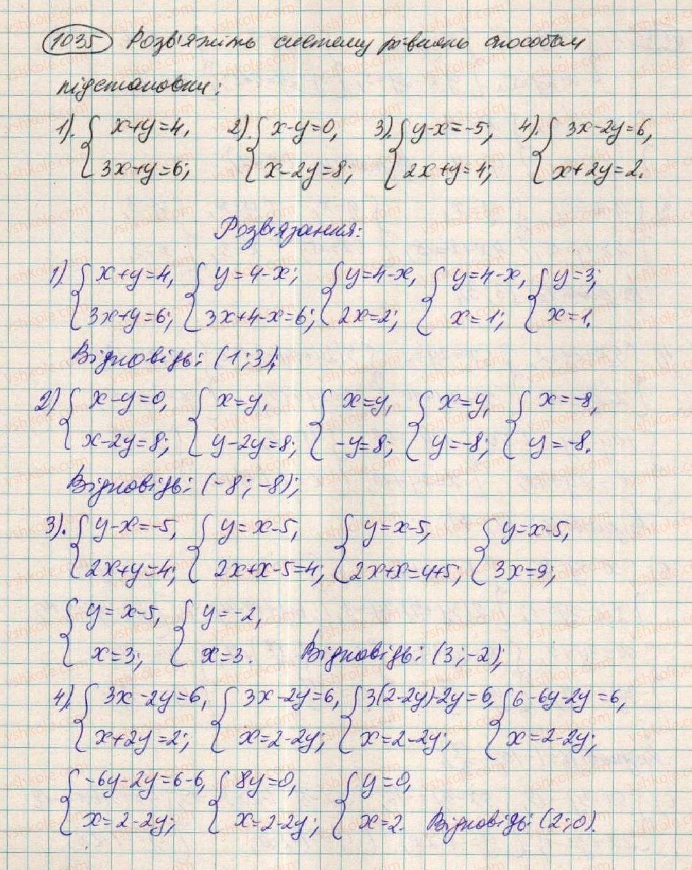 7-algebra-os-ister-2015--rozdil-3-linijni-rivnyannya-ta-yih-funktsiyi-28-rozvzuvannya-sistem-dvoh-linijnih-rivnyan-z-dvoma-zminnimi-sposobami-pidstanovki-1035.jpg