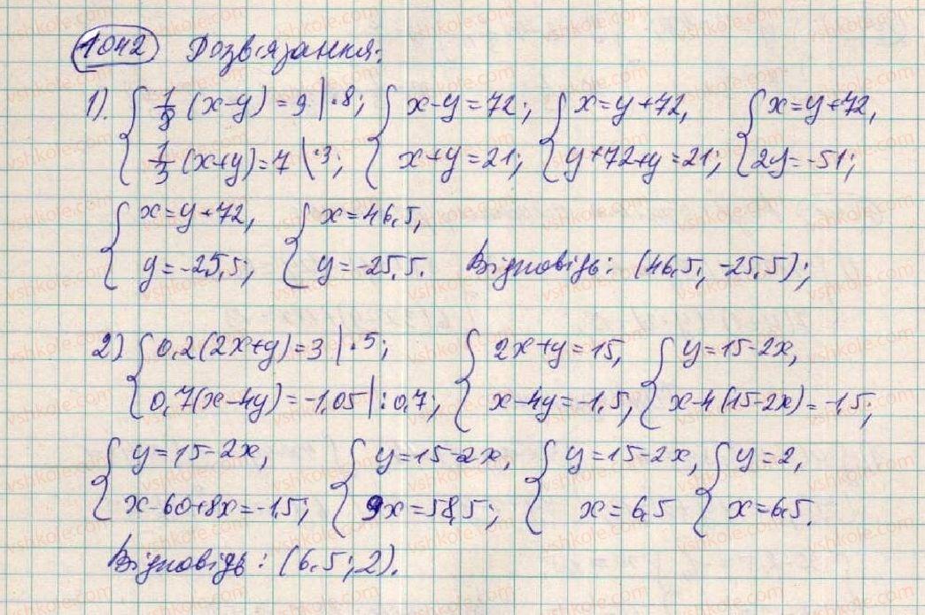 7-algebra-os-ister-2015--rozdil-3-linijni-rivnyannya-ta-yih-funktsiyi-28-rozvzuvannya-sistem-dvoh-linijnih-rivnyan-z-dvoma-zminnimi-sposobami-pidstanovki-1042-rnd5265.jpg