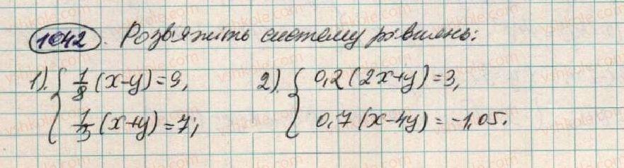 7-algebra-os-ister-2015--rozdil-3-linijni-rivnyannya-ta-yih-funktsiyi-28-rozvzuvannya-sistem-dvoh-linijnih-rivnyan-z-dvoma-zminnimi-sposobami-pidstanovki-1042.jpg