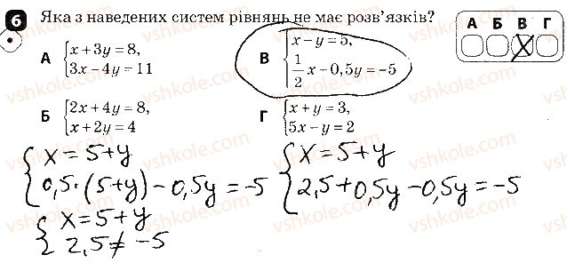 7-algebra-tl-korniyenko-vi-figotina-2015-zoshit-kontrol--kontrolni-roboti-kontrolna-robota6-linijni-rivnyannya-ta-yih-sistemi-variant-1-6.jpg