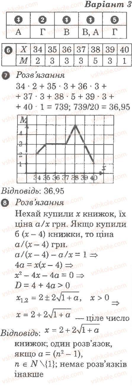 9-algebra-lg-stadnik-om-roganin-2010-kompleksnij-zoshit-dlya-kontrolyu-znan--chastina-2-kontrolni-roboti-kontrolna-robota-6-elementi-prikladnoyi-matematiki-В3.jpg
