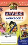 Учебник Англiйська мова 1 клас А.М. Несвіт 2012 Робочий зошит