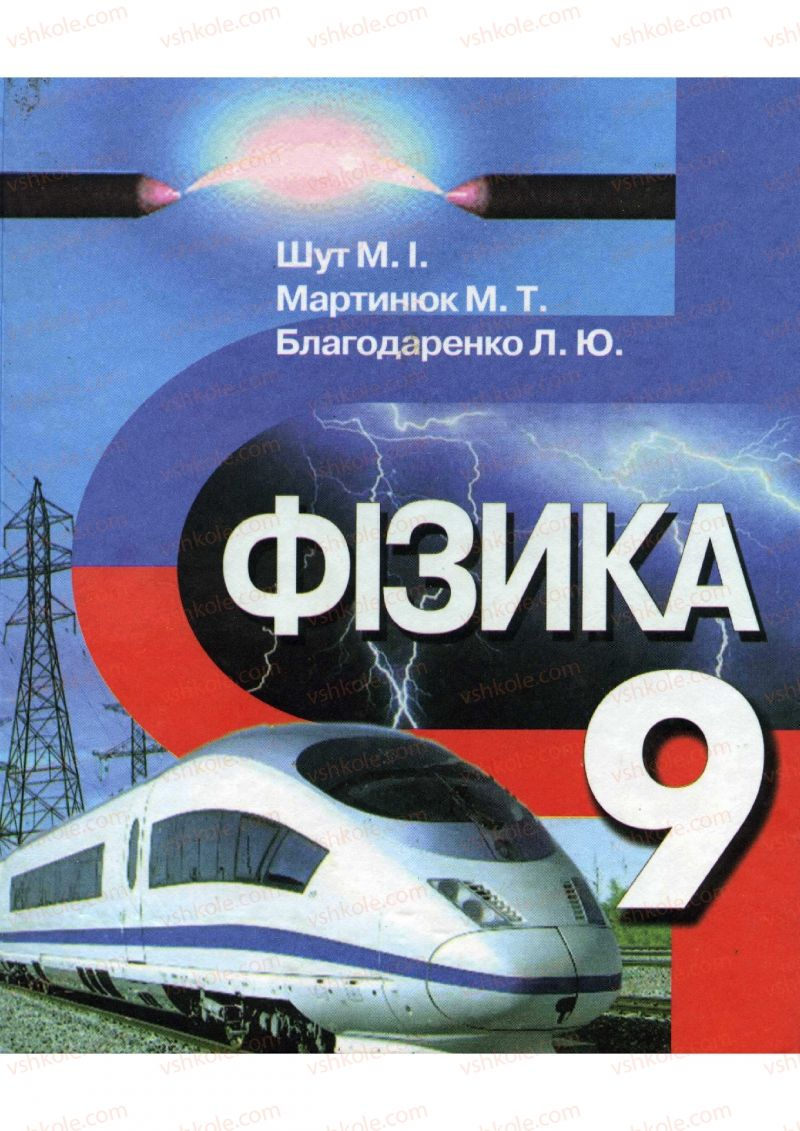 Страница 2 | Учебник Фізика 9 класс М.І. Шут, М.Т. Мартинюк, Л.Ю. Благодаренко 2009