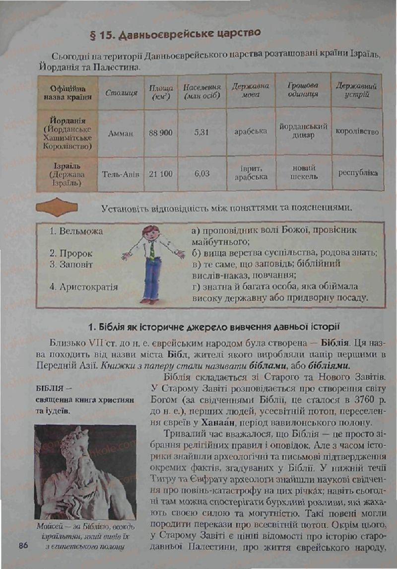 Страница 86 | Учебник Історія 6 класс С.О. Голованов, С.В. Костирко 2006