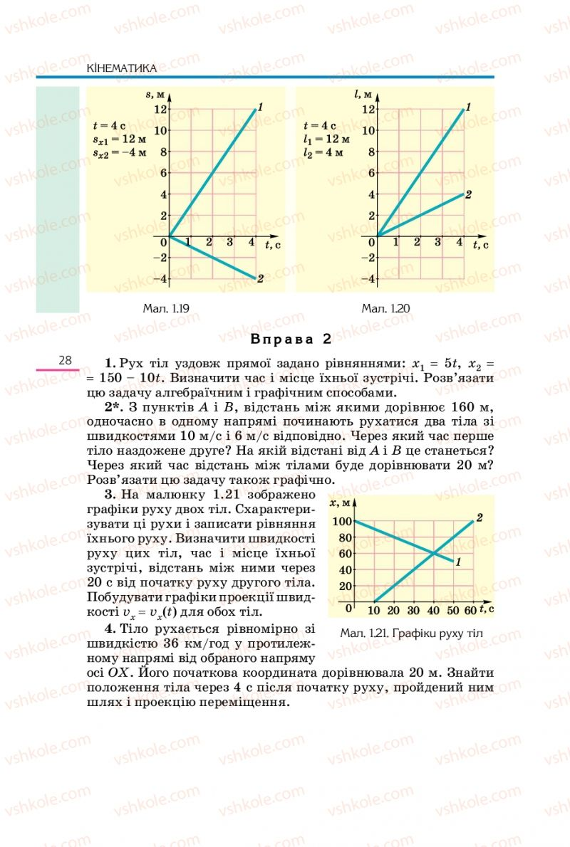 Страница 28 | Учебник Фізика 10 класс Є.В. Коршак, О.І. Ляшенко, В.Ф. Савченко 2010 Рівень стандарту
