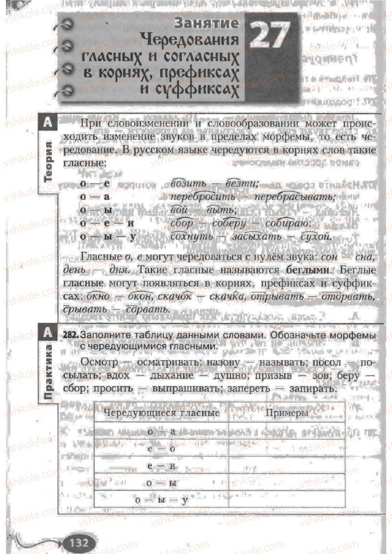 Страница 132 | Учебник Русский язык 6 класс Н.Ф. Баландина, К.В. Дегтярёва, С.А. Лебеденко 2010