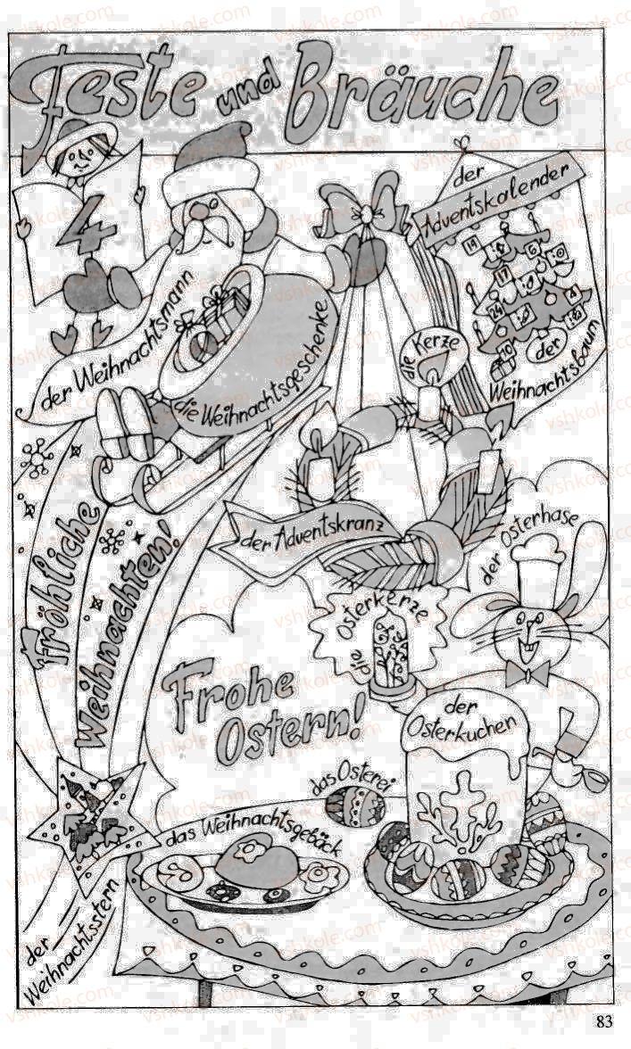 Страница 83 | Учебник Німецька мова 10 класс Н.П. Басай 2006