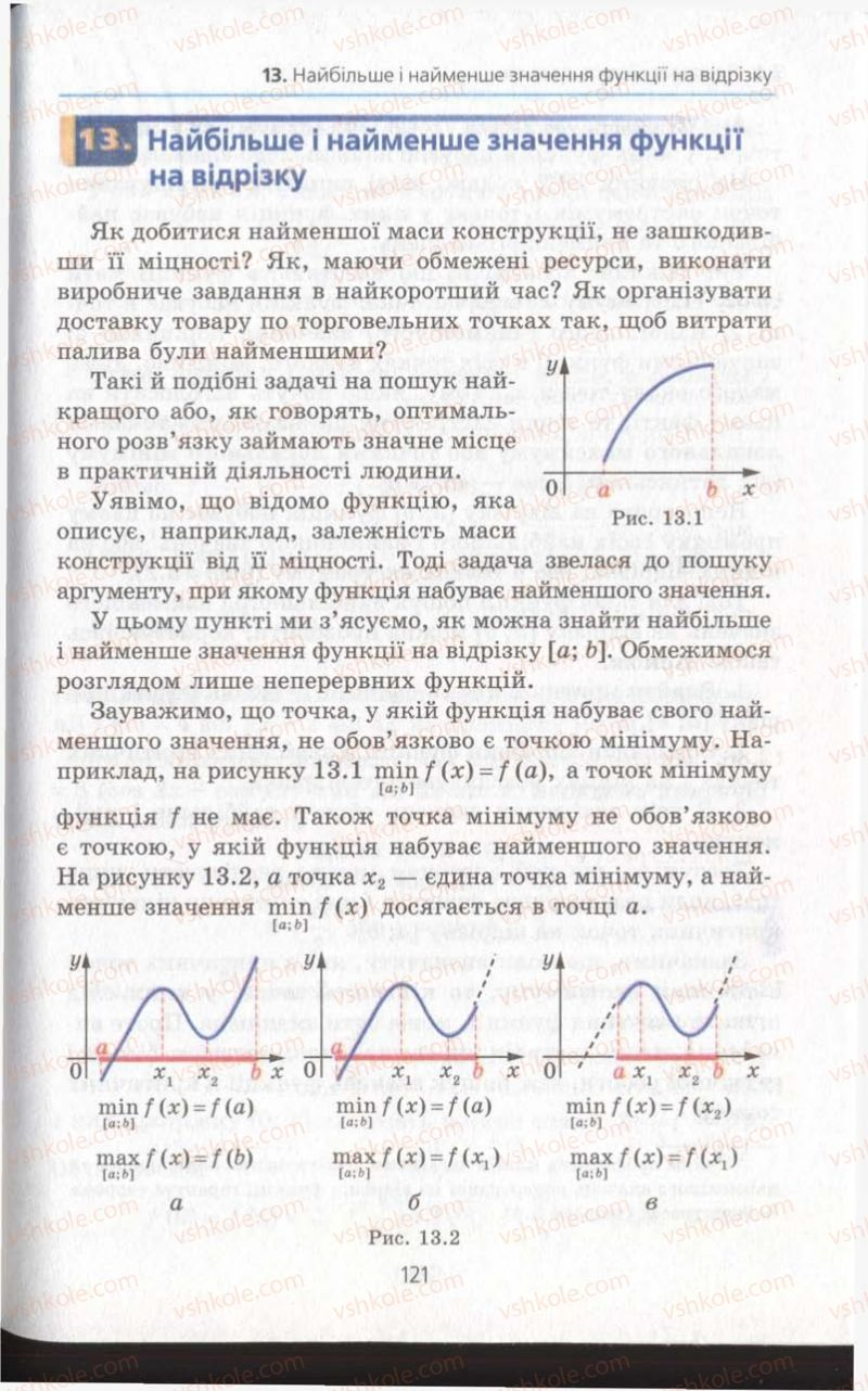 Страница 121 | Учебник Алгебра 11 класс А.Г. Мерзляк, Д.А. Номіровський, В.Б. Полонський, М.С. Якір 2011 Академічний, профільний рівні
