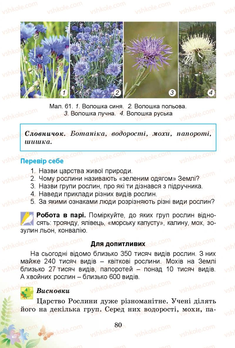 Страница 80   Учебник Природознавство 3 класс Т.Г. Гільберг, Т.В. Сак 2014