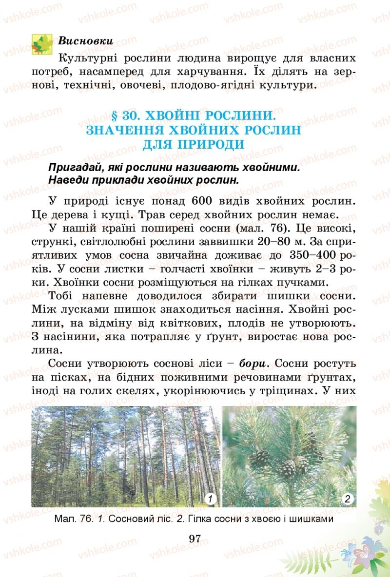 Страница 97 | Учебник Природознавство 3 класс Т.Г. Гільберг, Т.В. Сак 2014