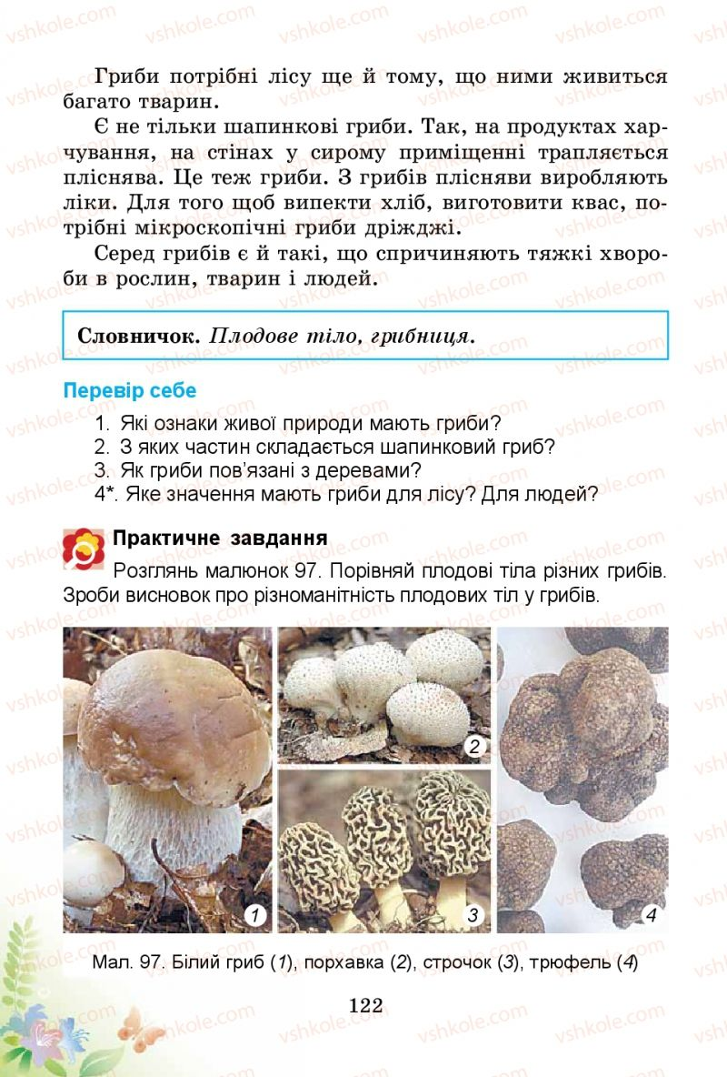 Страница 122 | Учебник Природознавство 3 класс Т.Г. Гільберг, Т.В. Сак 2014