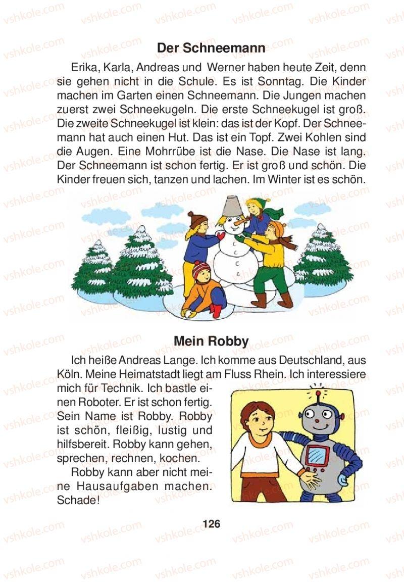 Страница 126 | Учебник Німецька мова 2 класс Я.М. Скоропад 2012