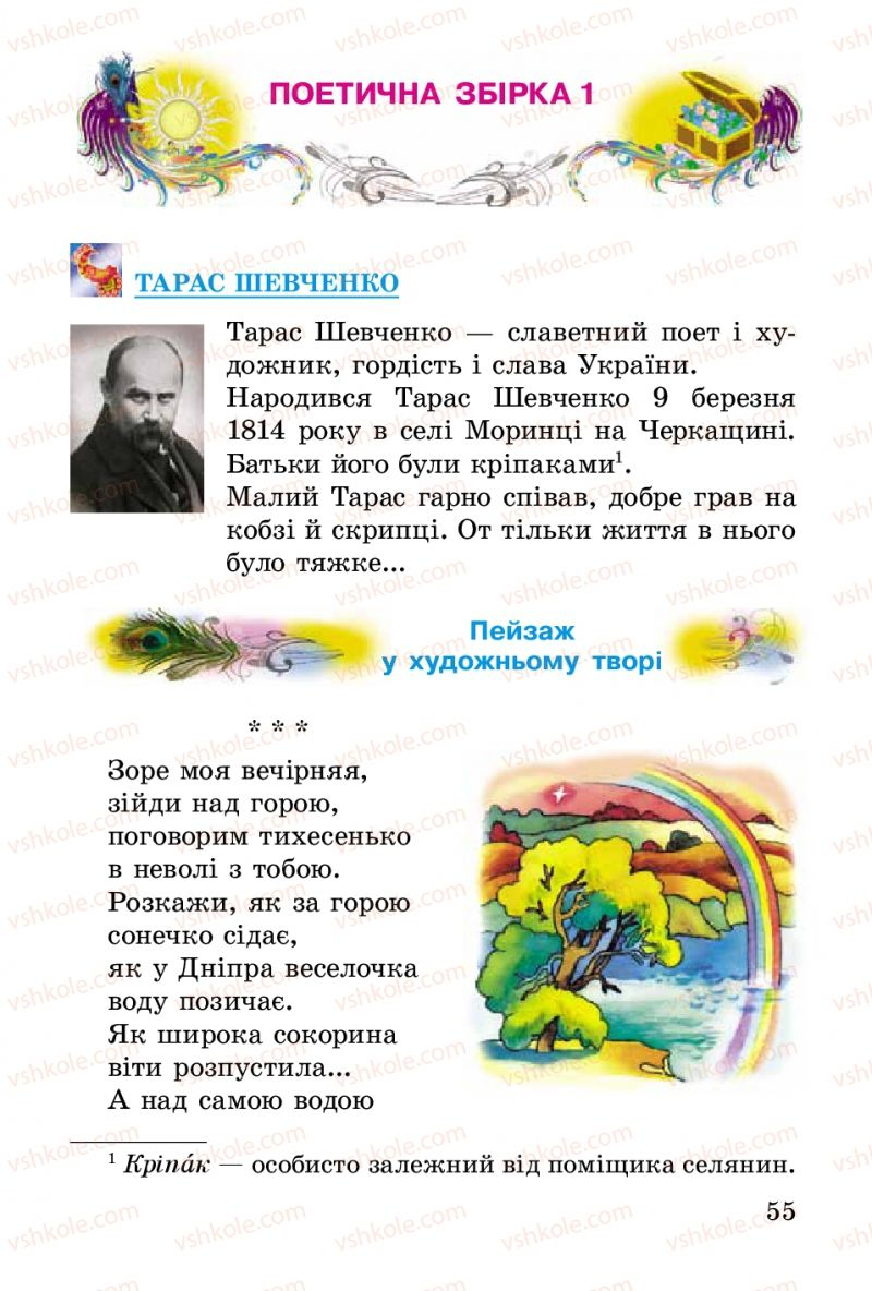 Страница 55 | Учебник Українська література 2 класс В.О. Науменко 2012