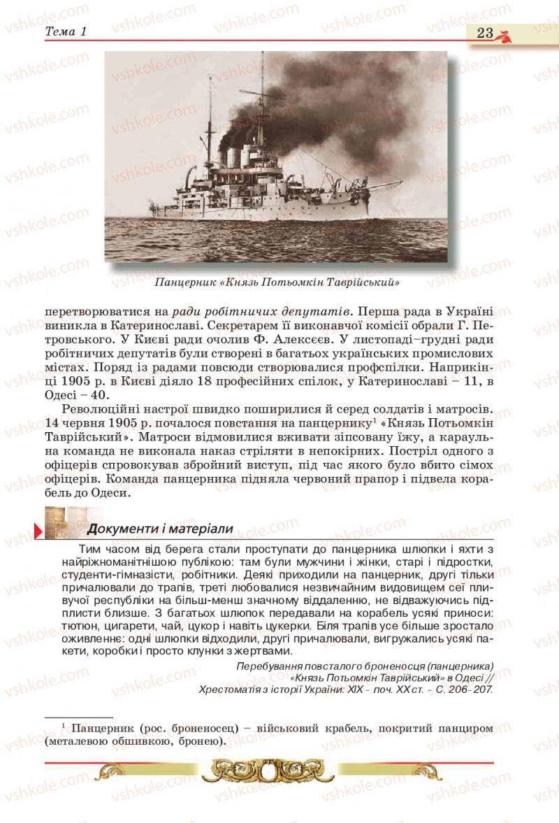 Страница 23   Учебник Історія України 10 класс О.П. Реєнт, О.В. Малій 2010