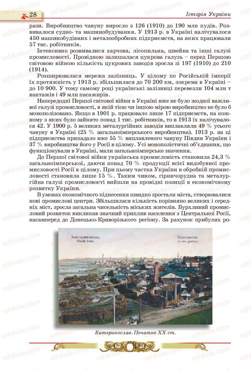 Страница 28 | Учебник Історія України 10 класс О.П. Реєнт, О.В. Малій 2010