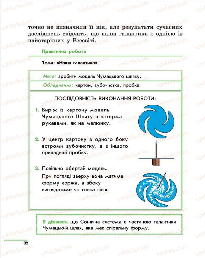 Страница 32 | Учебник Природознавство 4 класс О.В. Тагліна, Г.Ж. Іванова 2015