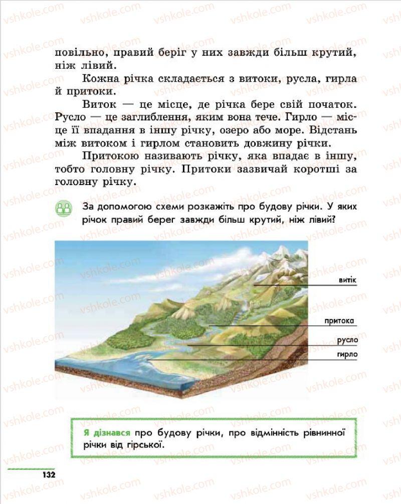 Страница 132 | Учебник Природознавство 4 класс О.В. Тагліна, Г.Ж. Іванова 2015