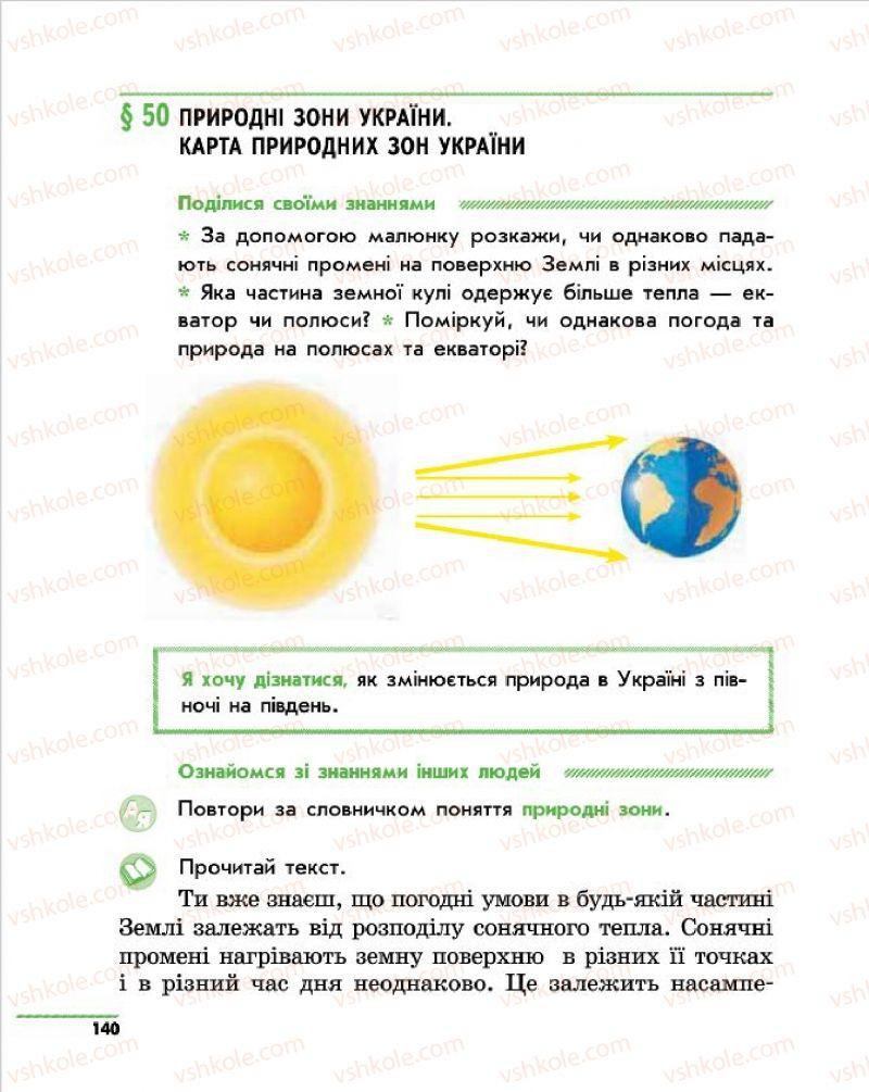 Страница 140 | Учебник Природознавство 4 класс О.В. Тагліна, Г.Ж. Іванова 2015