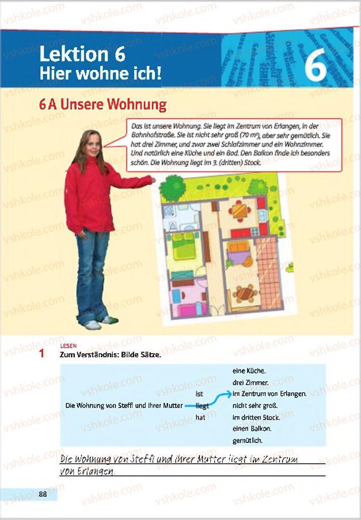 Страница 88 | Учебник Німецька мова 7 класс Н.П. Басай 2015 3 рік навчання
