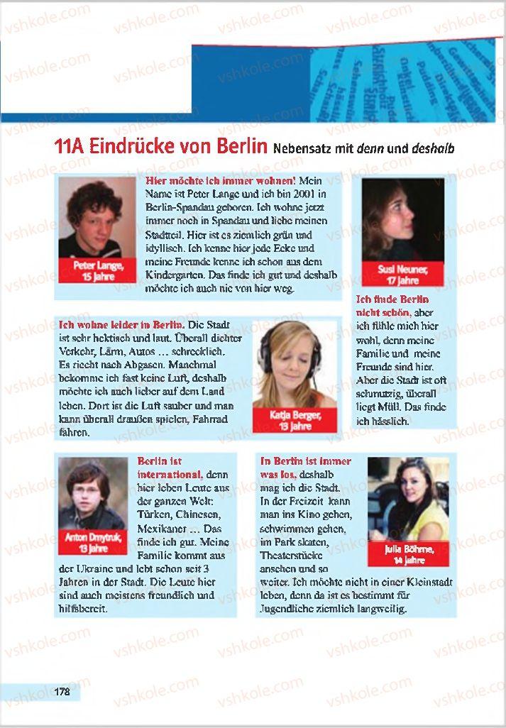 Страница 178 | Учебник Німецька мова 7 класс Н.П. Басай 2015 3 рік навчання