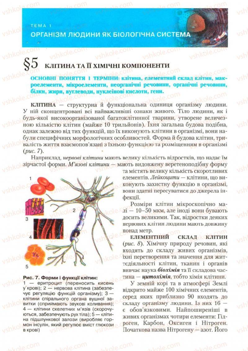 Страница 16 | Учебник Біологія 9 класс С.В. Страшко, Л.Г. Горяна, В.Г. Білик, С.А. Ігнатенко 2009