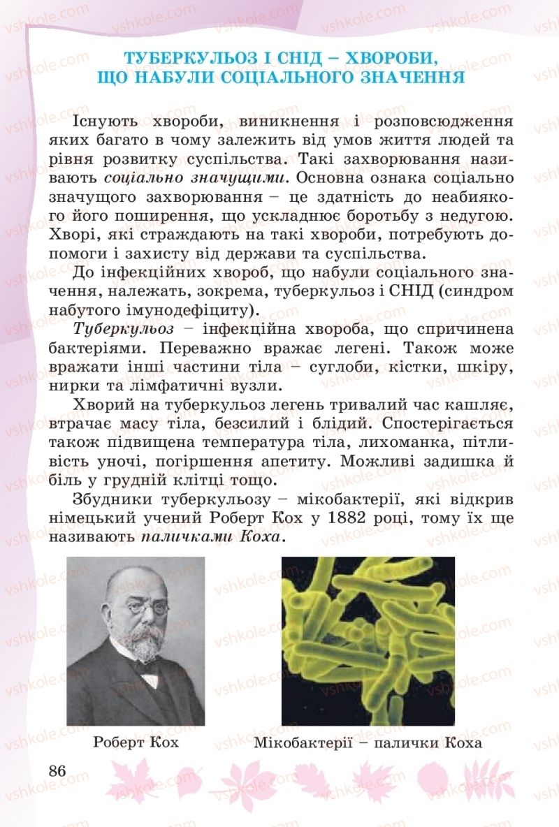 Страница 86 | Учебник Основи здоров'я 4 класс О.В. Гнaтюк 2015