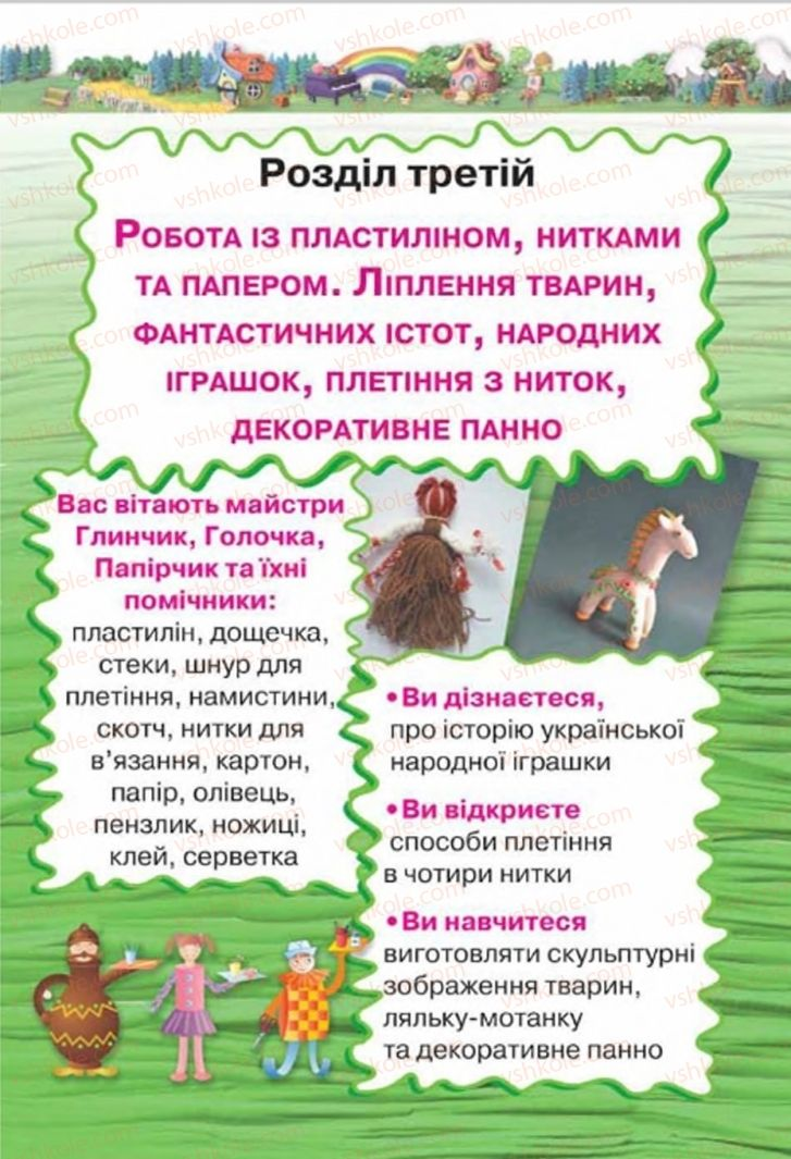 Страница 63   Учебник Трудове навчання 4 класс Н.В. Котелянець, О.В. Агеєва 2015