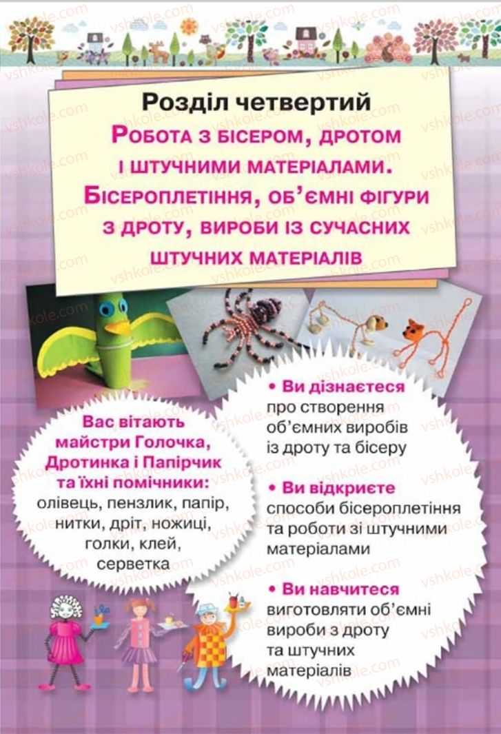 Страница 87 | Учебник Трудове навчання 4 класс Н.В. Котелянець, О.В. Агеєва 2015