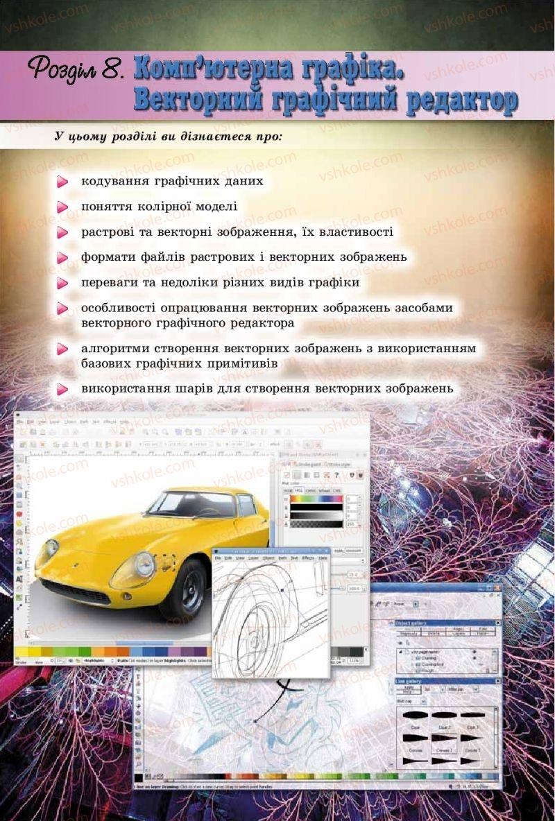 Страница 208 | Учебник Інформатика 9 класс Й.Я. Ривкінд, Т.І. Лисенко, Л.А. Чернікова, В.В. Шакотько 2017