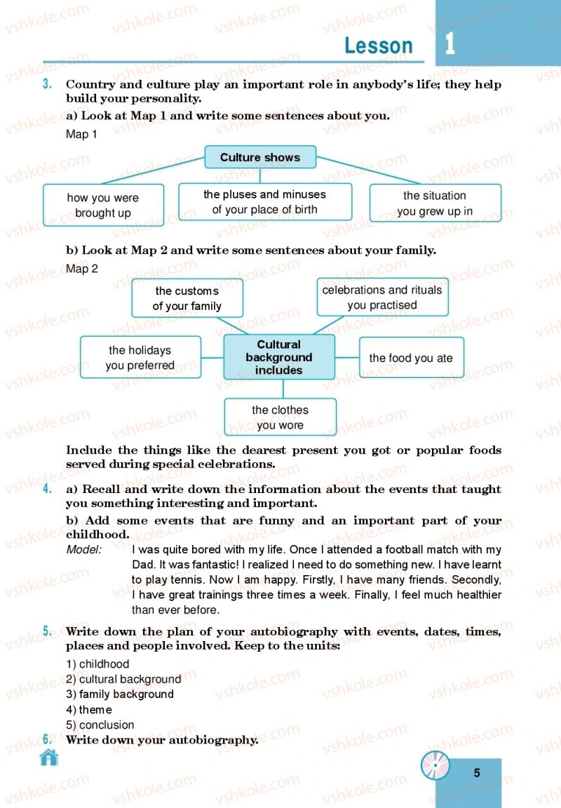 Страница 5 | Учебник Англiйська мова 10 класс М. О. Кучма 2018